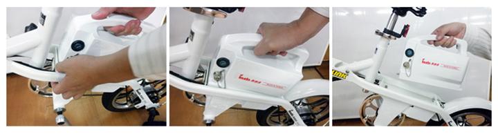 電動摺疊自行車(12吋) 5